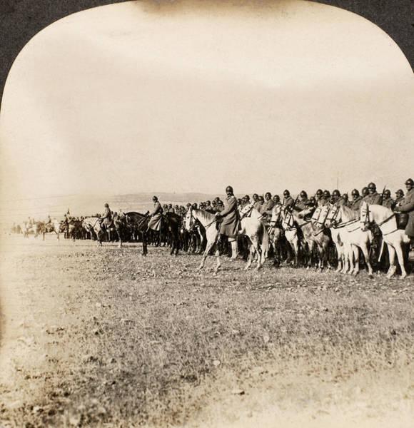 Wall Art - Photograph - World War I Cavalry by Granger