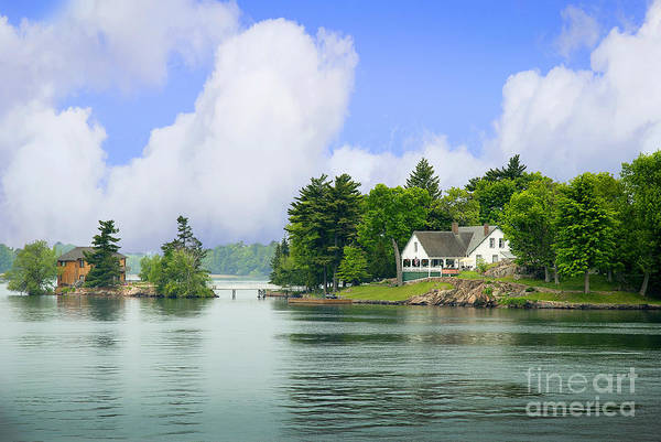 Photograph - 1000 Island Waterway by Brenda Kean