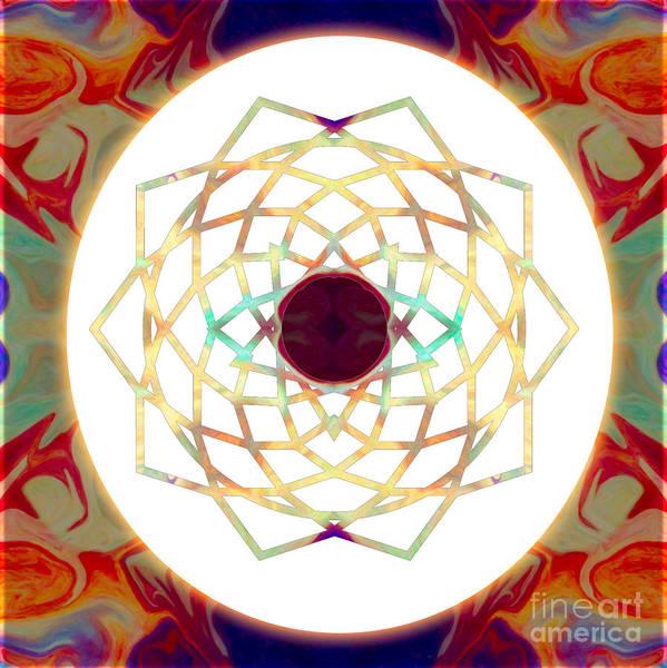 Digital Art - 1000 Petalled Lotus Abstract Chakra Art By Omaste Witkowski by Omaste Witkowski