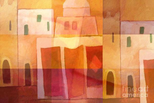 Painting - 1001 Nights by Lutz Baar