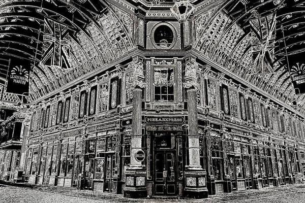 Wall Art - Photograph - Leadenhall Market London by David Pyatt