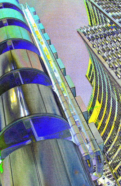 Insurance Digital Art - Lloyd's Building London  by David Pyatt