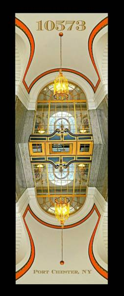 United States Postal Service Photograph - 10573 Portico by Diana Angstadt