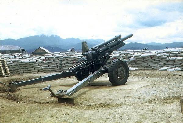 105mm Howitzer Art Print
