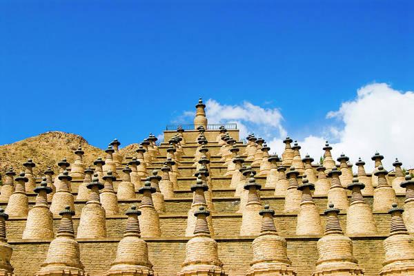 Art And Craft Photograph - 108 Dagobas Temple by Aldo Pavan