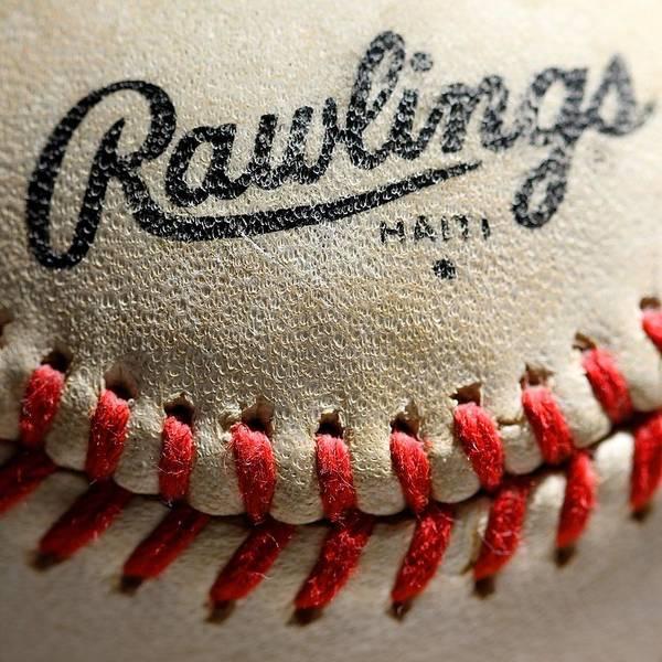 College Baseball Photograph - Baseball by Michael Blesius