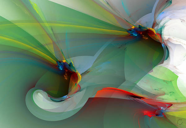 Wall Art - Digital Art - 1085 by Lar Matre