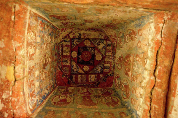 Wall Art - Photograph - 10th Century Murals Of The Ancient by Jaina Mishra