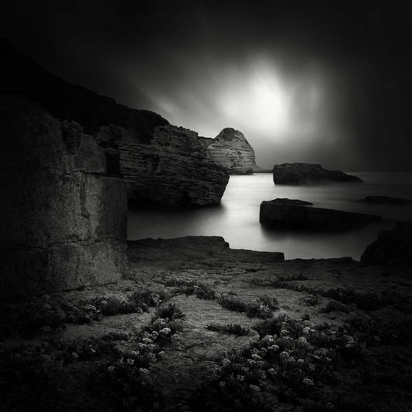 Abstract Sea Wall Art - Photograph - ! by Yucel Basoglu