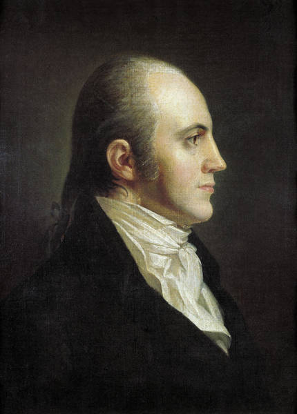 Wall Art - Painting - Aaron Burr (1756-1836) by Granger