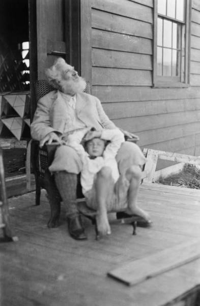 Melville Photograph - Alexander Graham Bell (1847-1922) by Granger