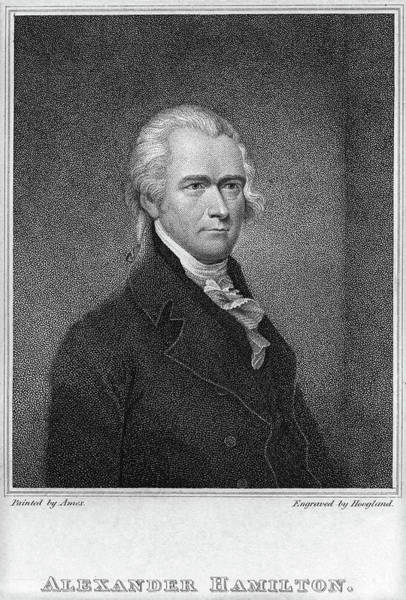 Wall Art - Painting - Alexander Hamilton (1755-1804) by Granger
