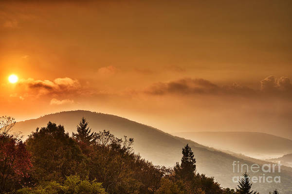 Highland Scenic Highway Wall Art - Photograph - Allegheny Mountain Sunrise #5 by Thomas R Fletcher