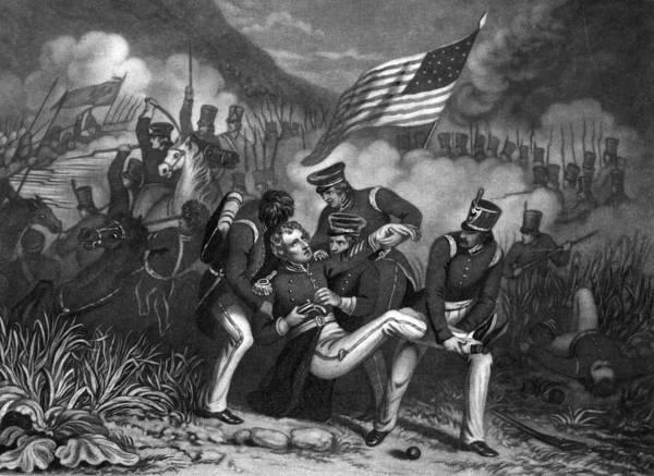 Wall Art - Painting - Battle Of Buena Vista, 1847 by Granger