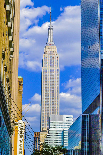 Photograph - Empire State Building by Theodore Jones