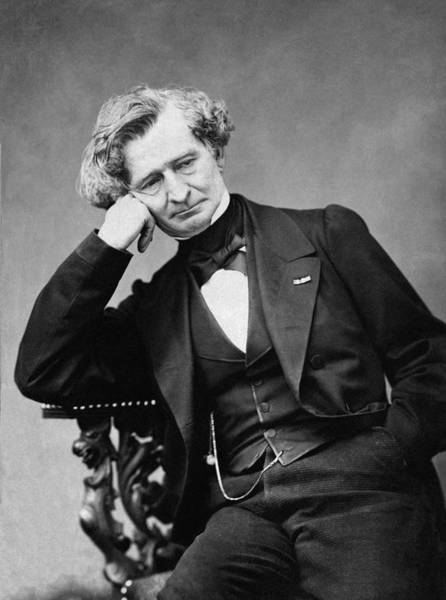 Wall Art - Photograph - Hector Berlioz (1803-1869) by Granger