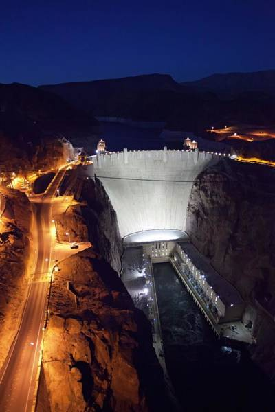 Wall Art - Photograph - Hoover Dam by Jim West