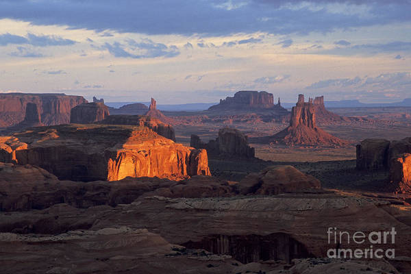 Photograph - Hunts Mesa Sunrise by Fred Stearns