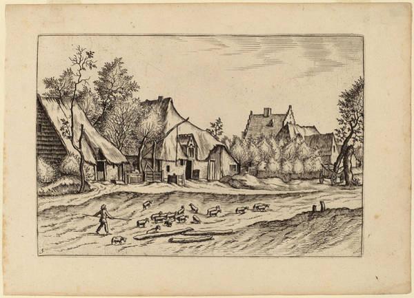 Wall Art - Drawing - Johannes Van Doetechum, The Elder And Lucas Van Doetechum by Quint Lox