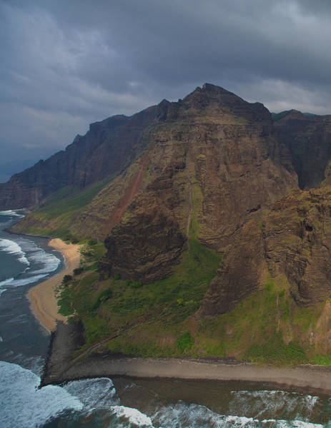 Photograph - Kauai Shoreline by Steven Lapkin