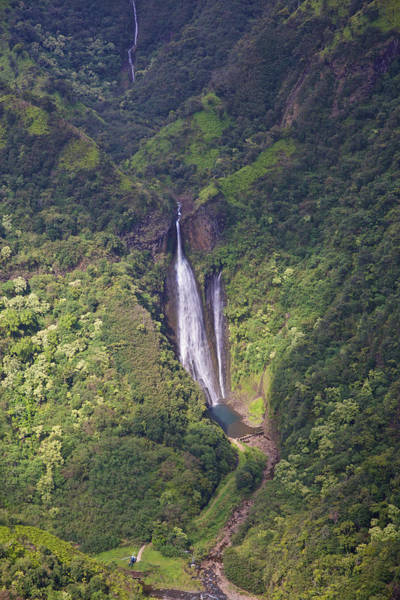 Photograph - Kauai Waterfalls by Steven Lapkin