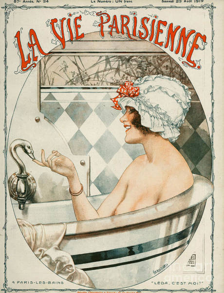 Wall Art - Drawing - La Vie Parisienne  1919 1910s France by The Advertising Archives