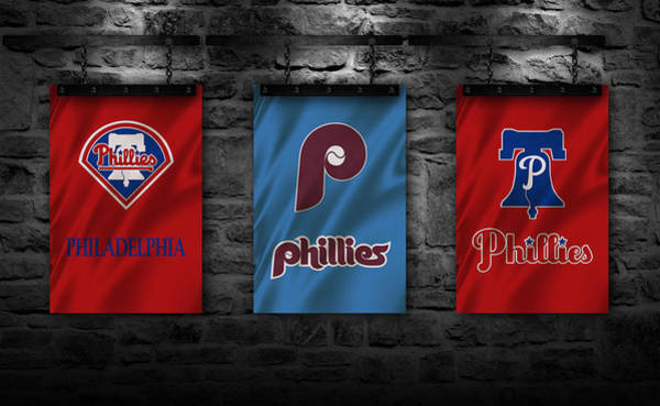 Outfield Wall Art - Photograph - Philadelphia Phillies by Joe Hamilton