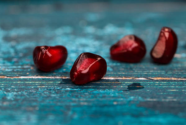 Fresh Photograph - Pomegranate by Nailia Schwarz