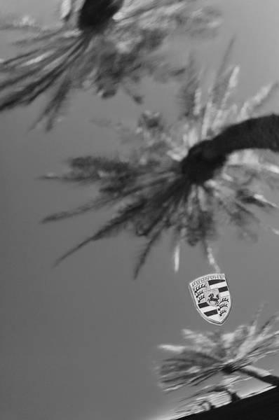 Photograph - Porsche Emblem by Jill Reger