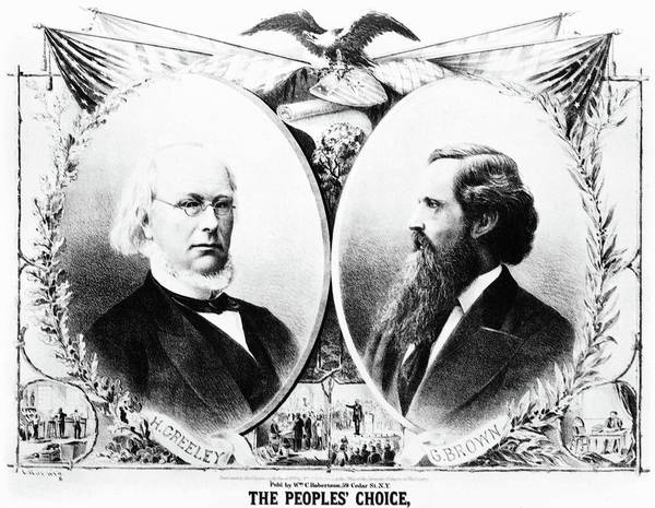 Painting - Presidential Campaign, 1872 by Granger