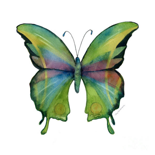 Painting - 11 Prism Butterfly by Amy Kirkpatrick