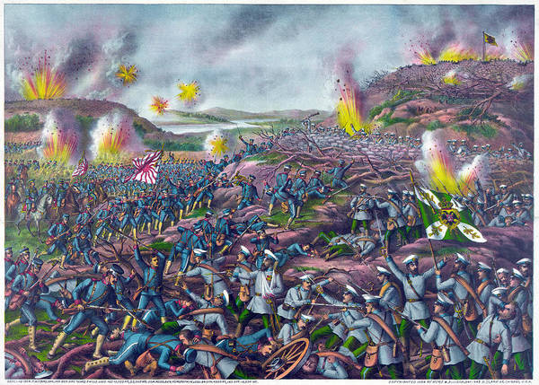 Wall Art - Painting - Russo-japanese War, 1904 by Granger