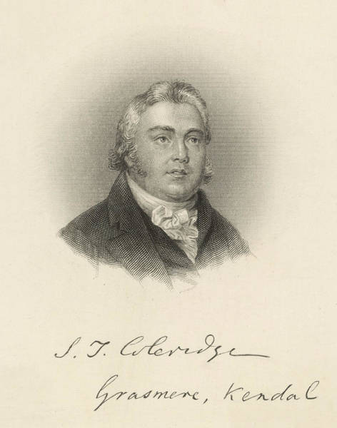 Samuel Taylor Coleridge  English Poet Art Print