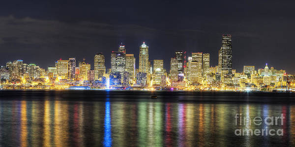 Wall Art - Photograph - Seattle Skyline by Twenty Two North Photography