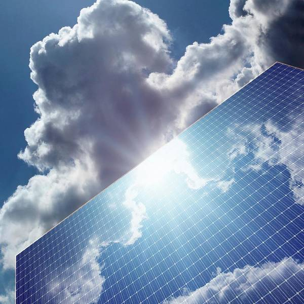 Wall Art - Photograph - Solar Panels by Detlev Van Ravenswaay