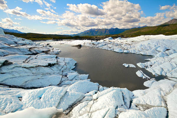 Wall Art - Photograph - Matanuska Glacier by Scott Slone