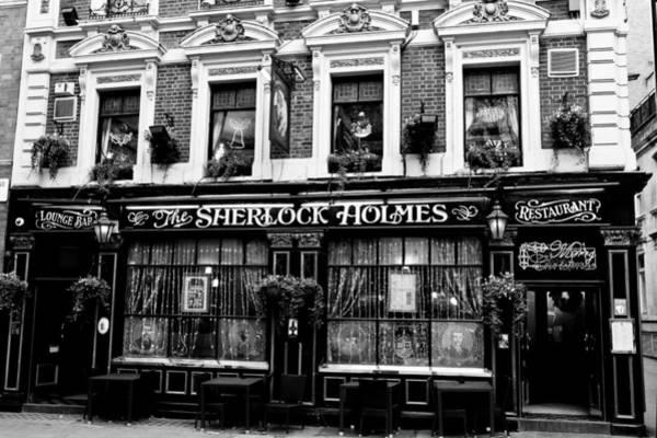 Conan Photograph - The Sherlock Holmes Pub  by David Pyatt