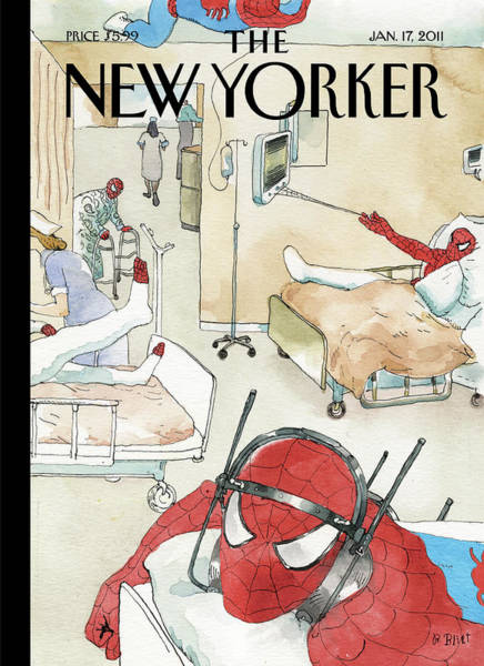 New Yorker January 17th, 2011 Art Print