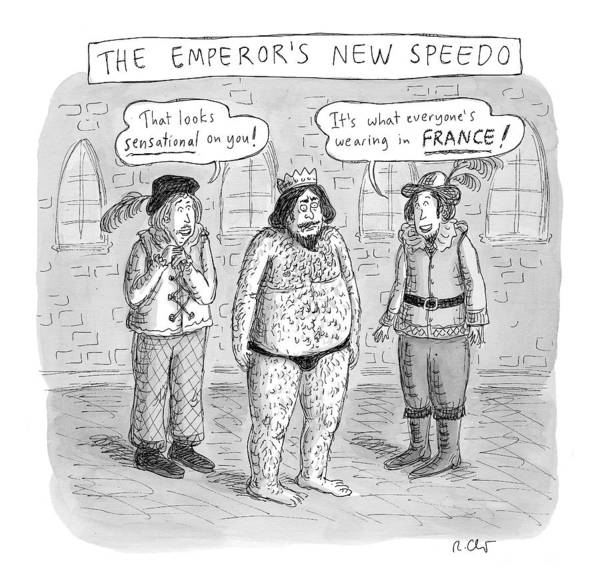 Drawing - New Yorker January 16th, 2017 by Roz Chast