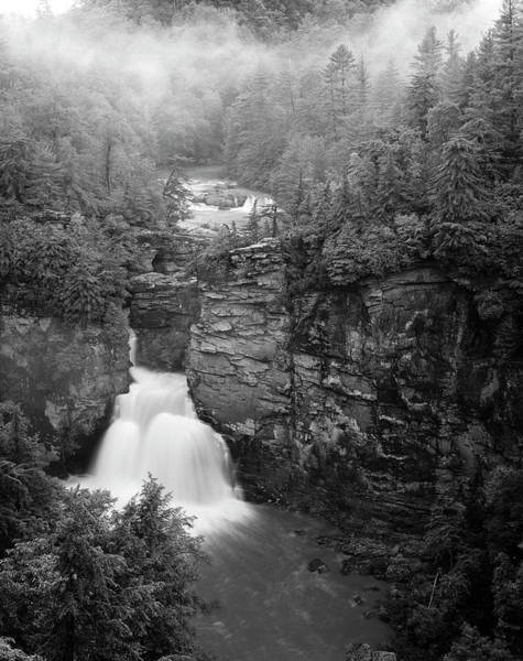 Linville Falls Wall Art - Photograph - Usa, North Carolina, Pisgah National by Adam Jones