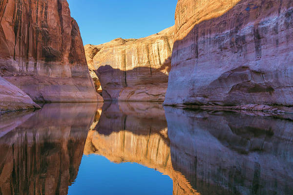 Desert Varnish Photograph - Utah, Glen Canyon National Recreation by Jaynes Gallery