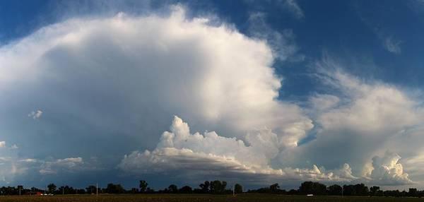 Photograph - Weak But Photograpic Nebraska Storm Cells by NebraskaSC