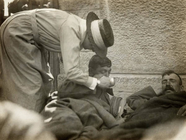 Wall Art - Photograph - Wwi France, 1918 by Granger