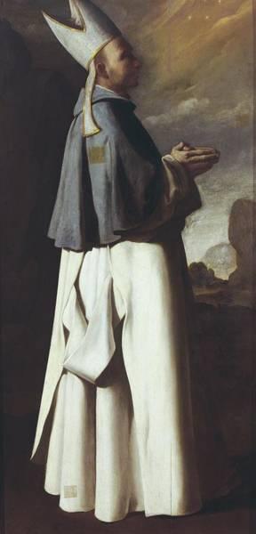 Chateauneuf Photograph - Zurbaran, Francisco De 1598-1664. Saint by Everett