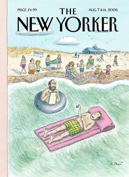 Men Painting - New Yorker August 7th, 2006 by Roz Chast