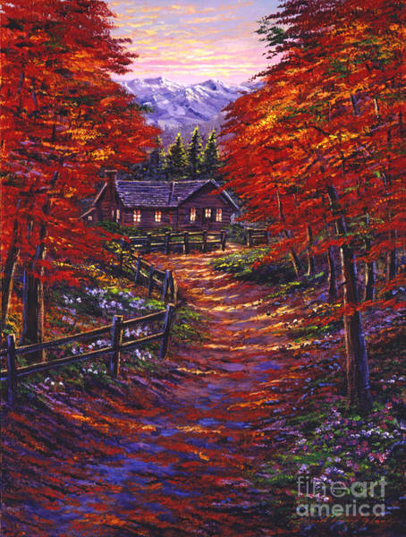 Painting - 1133 Friendly House by David Lloyd Glover