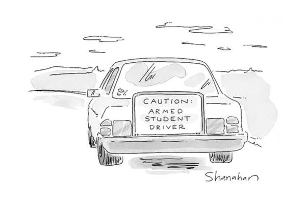 Trends Drawing - New Yorker June 19th, 2000 by Danny Shanahan