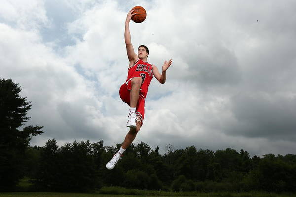 Chicago Bulls Photograph - 2014 Nba Rookie Photo Shoot by Nathaniel S. Butler