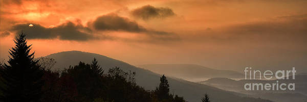 Highland Scenic Highway Wall Art - Photograph - Allegheny Mountain Sunrise #12 by Thomas R Fletcher