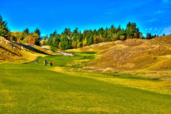 Photograph - #12 At Chambers Bay Golf Course - Location Of The 2015 U.s. Open Championship by David Patterson